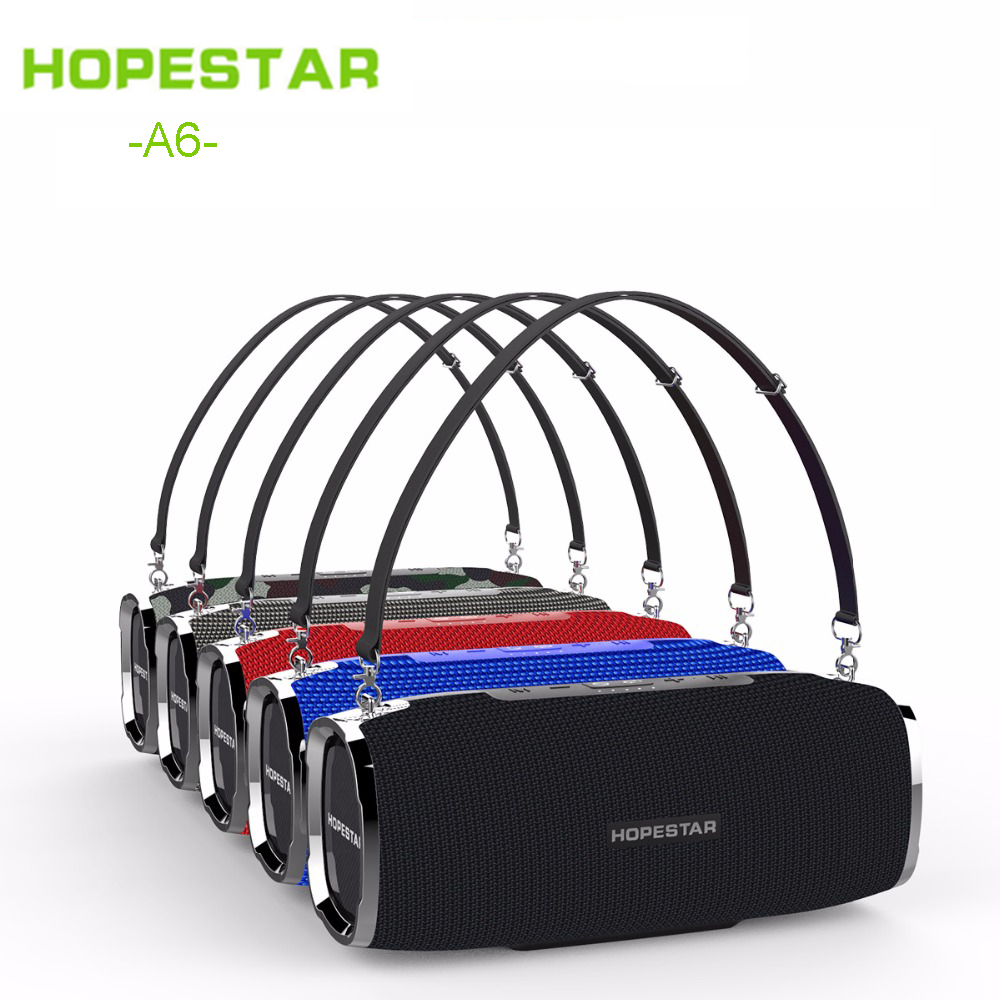 HOPESTAR A6 Bluetooth Speaker Portable Wireless Loudspeaker Sound System 3D stereo Outdoor Waterproof Big Power 35W Music Xtreme best bluetooth speaker wireless waterproof portable outdoor mini column box loudspeaker big power aux 10w spiker sound system
