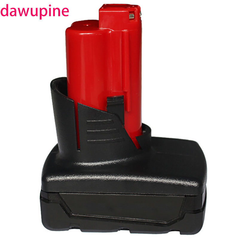 dawupine M12 12V 3Ah 4Ah Battery Plastic Case (no battery cell ) PCB Circuit Board For Milwaukee 48-11-2411 M12 Li-ion Battery