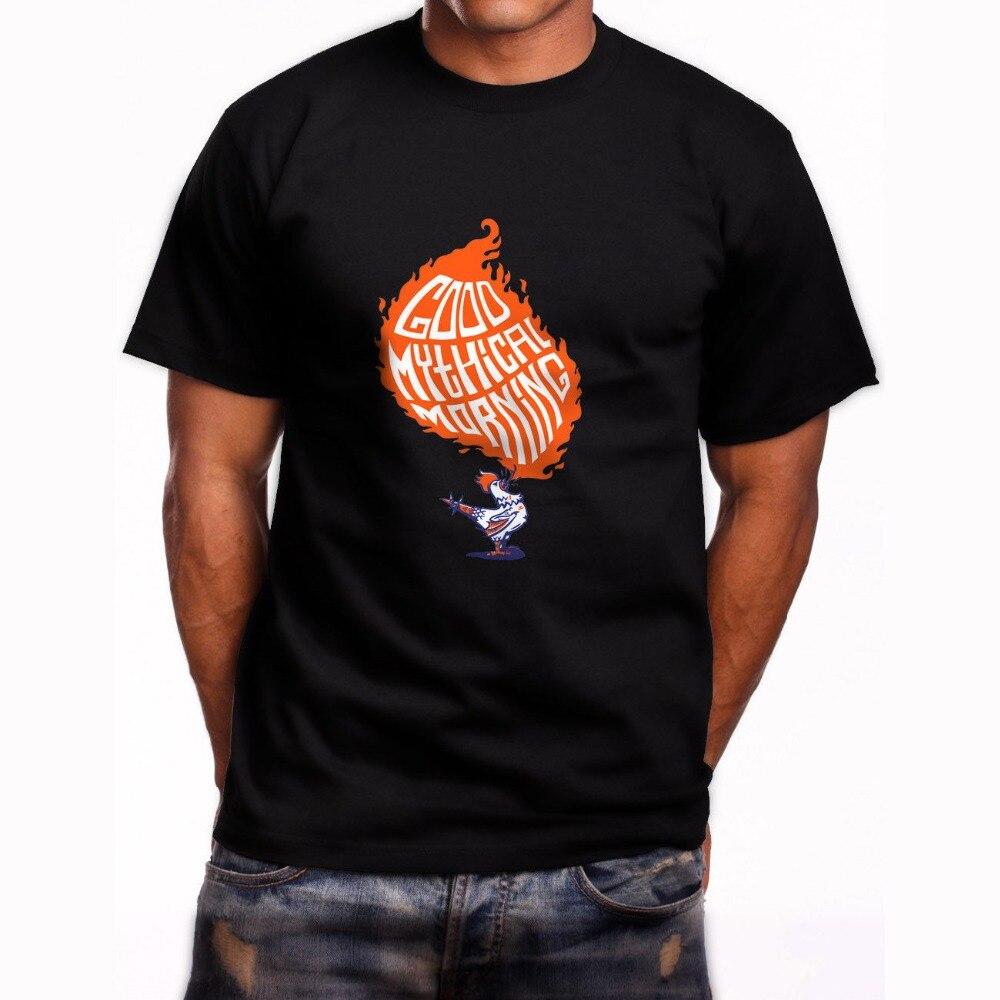 Забавный Графический Тройники для Для женщин короткий рукав Повседневное новый Хорошее Мифическое Утро Экипаж шеи мужские футболки