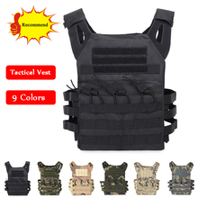 цена на Tactical Combat Vest JPC Outdoor Hunting Wargame Paintball Protective Plate Carrier Body Armor Military Airsoft Vest