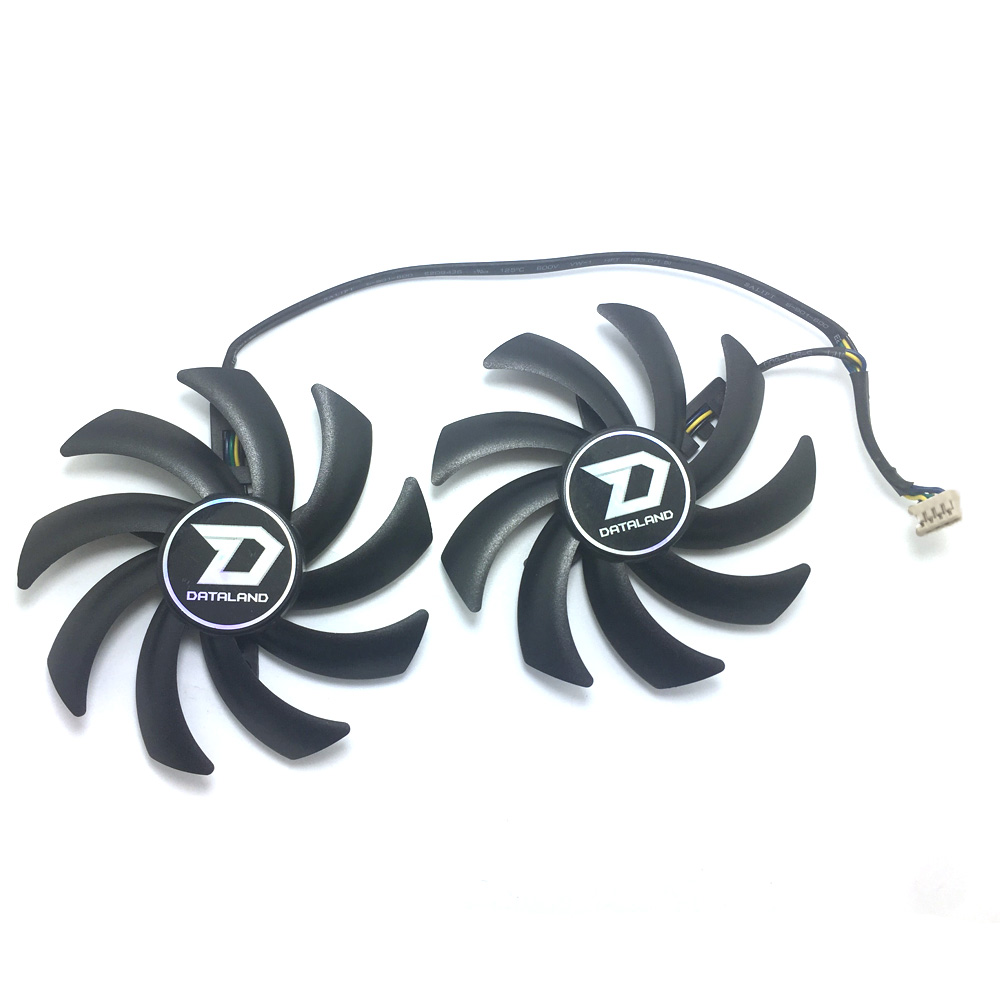 85MM PLD09210D12HH PC Cooling <font><b>fan</b></font> For Dataland <font><b>R9</b></font> 280X 380 <font><b>270X</b></font> 290X 370X HD7950 GPU Graphics Card Dual Cooler <font><b>Fan</b></font> image