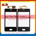10 pçs/lote alta qualidade para nokia asha lumia 501 n501 touch screen digitador lente de vidro do painel sensor frete grátis + código de rastreamento