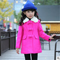 girls wool coats girls coats and jacketsGirls Spring and Autumn Korean fashion woolen coat jacket free shipping