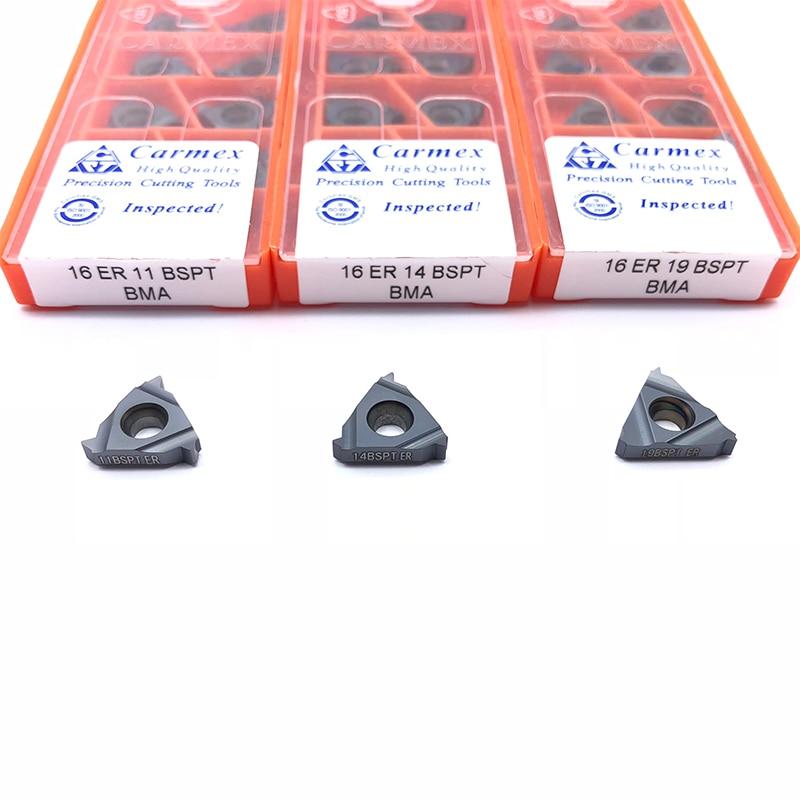 Carbide Inserts 11IR A60 BMA High quality Threaded blade 10pcs Carmex