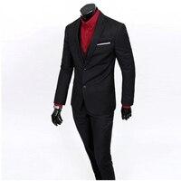 Jackets Pants Vest 2014 New Men Suits Slim Custom Fit Tuxedo Brand Fashion Bridegroon Business