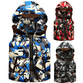 2017 new arrival new arrival large combination price camouflage Down Vest men fashion thickened warm coat plus size M L XL2XL3XL