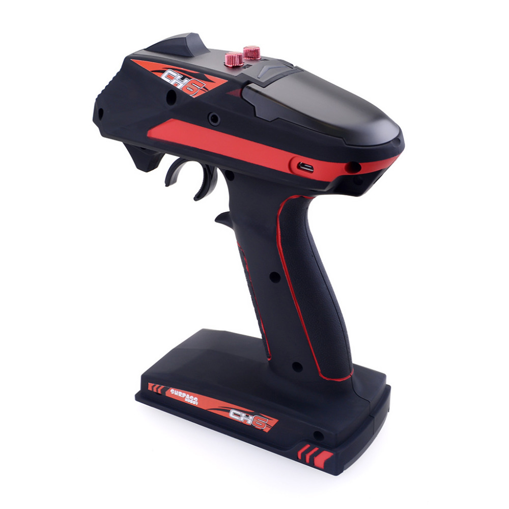 Surpass Hobby 2.4G 6CH Super Response Radio System Transmitter with Receiver