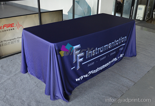 6ft Trade Show Table Cloth Promotion