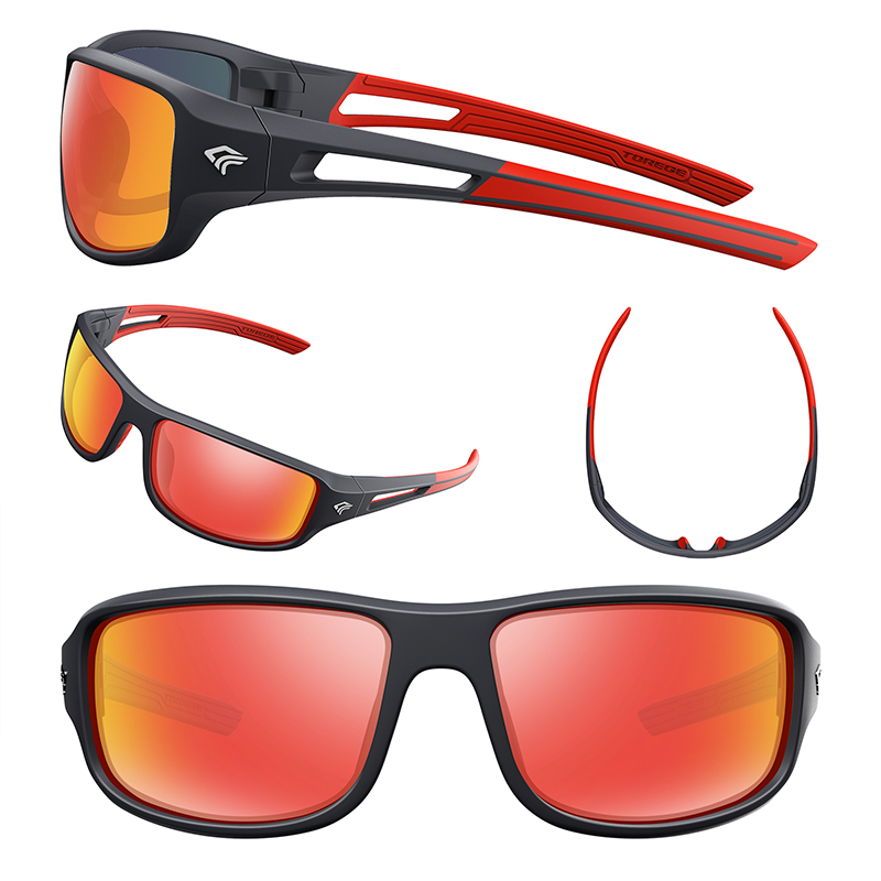 577e3c67b256 2018 Polarized Outdoor Sports Sunglasses Men Women Cycling Running Driving  Fishing Race Golf Polarised UV400 Glasses TR90 Frame-in Cycling Eyewear  from ...