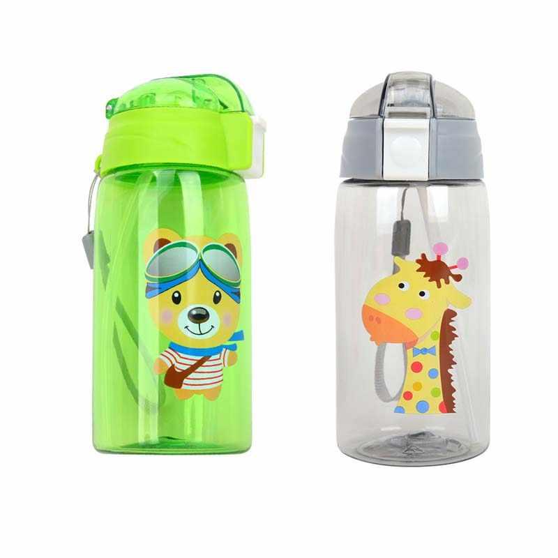 520 мл детские чашки для кормления, чашки с картинками из мультфильмов, бутылка для воды, экологичный детский чайник, переносная бутылка для маленьких мальчиков и девочек