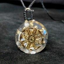 Элит Orgone Кристалл правильная энергия кулон ИСЦЕЛЕНИЕ балансировка положительная энергия здоровое состояние кулон ожерелье чакры для женщин