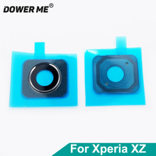 Dower Me Original New Back Camera Lens With Adhesive Sticker Ring For Sony Xperia XZ