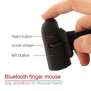Image 2 - Universal Finger Mouse Bluetooth Wireless Finger Rings Optical Mouse 1600Dpi Handheld Mice for Notebook Laptop Desktop Portable