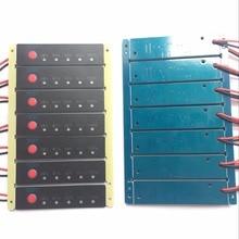 Lote de 20 unidades de 1s, 2s, 3s, 4s, 6s, 7s, 8s, 9s, 10s, 11s, 12s, 13s, 14s, 15s, 16s, medidor de capacidad de batería de iones de litio