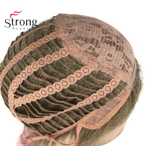 Image 5 - StrongBeauty Light Brown Short Mens Wigs Synthetic Full Wig for Men