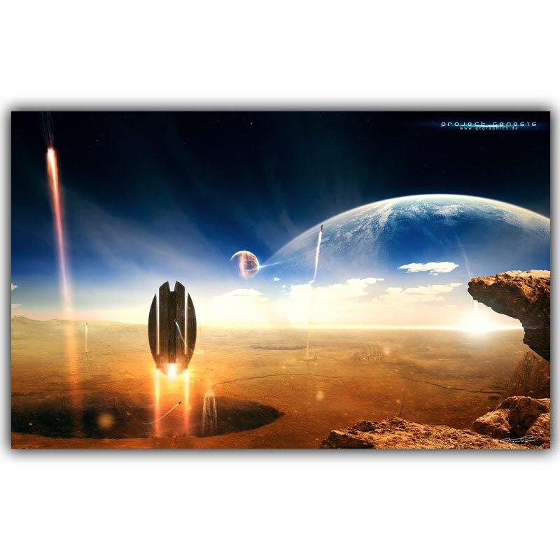 Star Trek poster estrella nebulosa fantasía seda Telas posters papel  pintado de la decoración casera dy877 10188bf14e08
