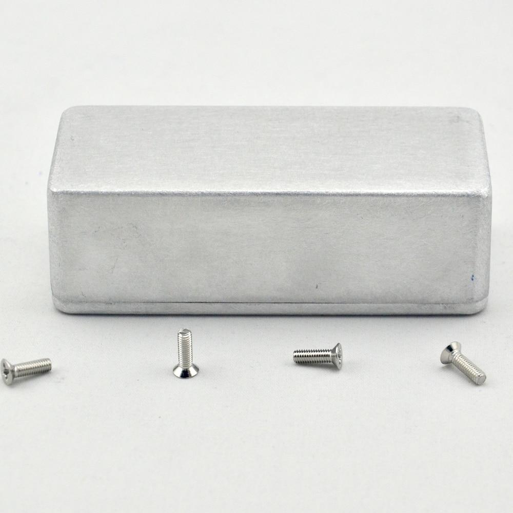 5 X Nieuwe 1590A Aluminium Metalen Stomp Box Case Behuizing Gitaar - Muziekinstrumenten - Foto 6