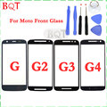 Brand NEW Front Lens Touch Screen Panel For Motorola MOTO G G2 G3 G4 Touch Screen Front Outer Glass
