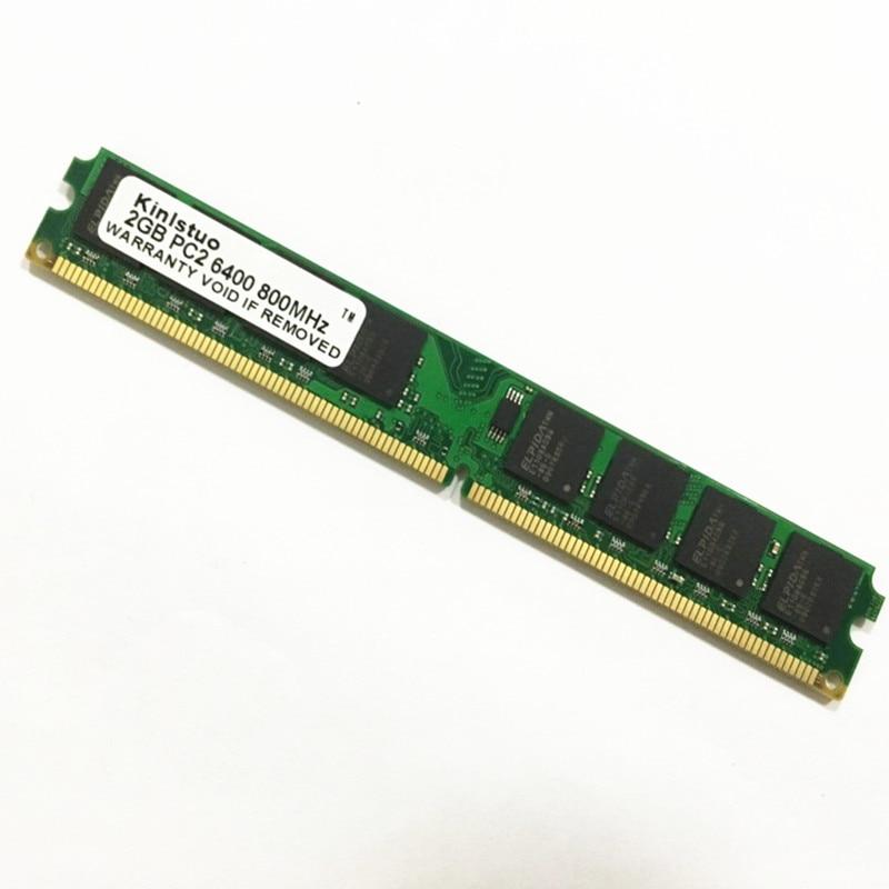 Masaüstü RAM Yaddaşına / Pulsuz çatdırılma üçün yeni möhürlənmiş DDR2 800 Mhz / 667Mhz / 533Mhz PC2 6400 1GB / 2GB!