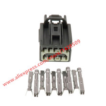 5 sets 10 pin automotive rearview mirror harness plug female wiring  connector