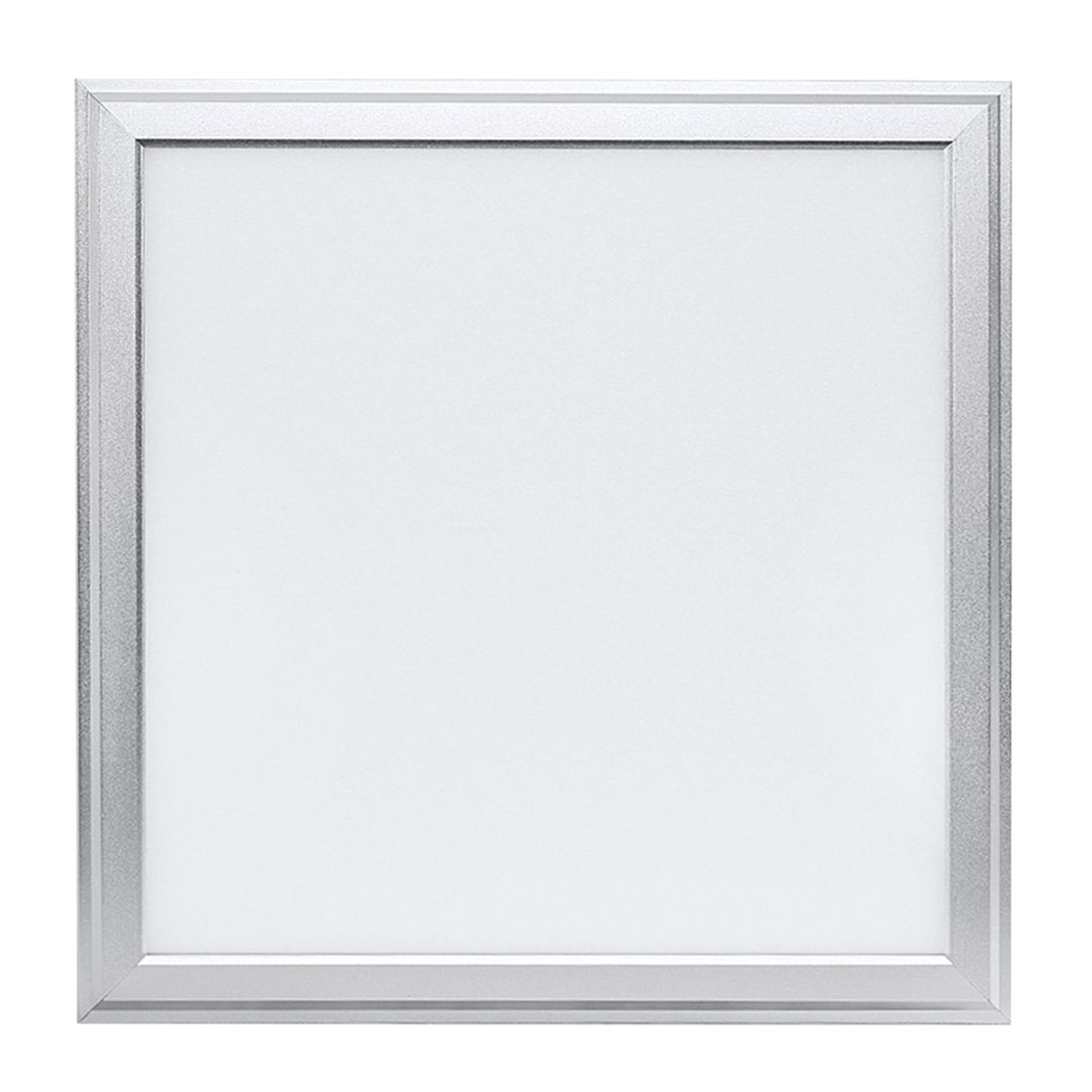 ФОТО Ultraslim Square 30X30cm Daylight White LED Panel Light Recessed Lamp Pendant Lights Set  SMD 2835 ,6500K,18W