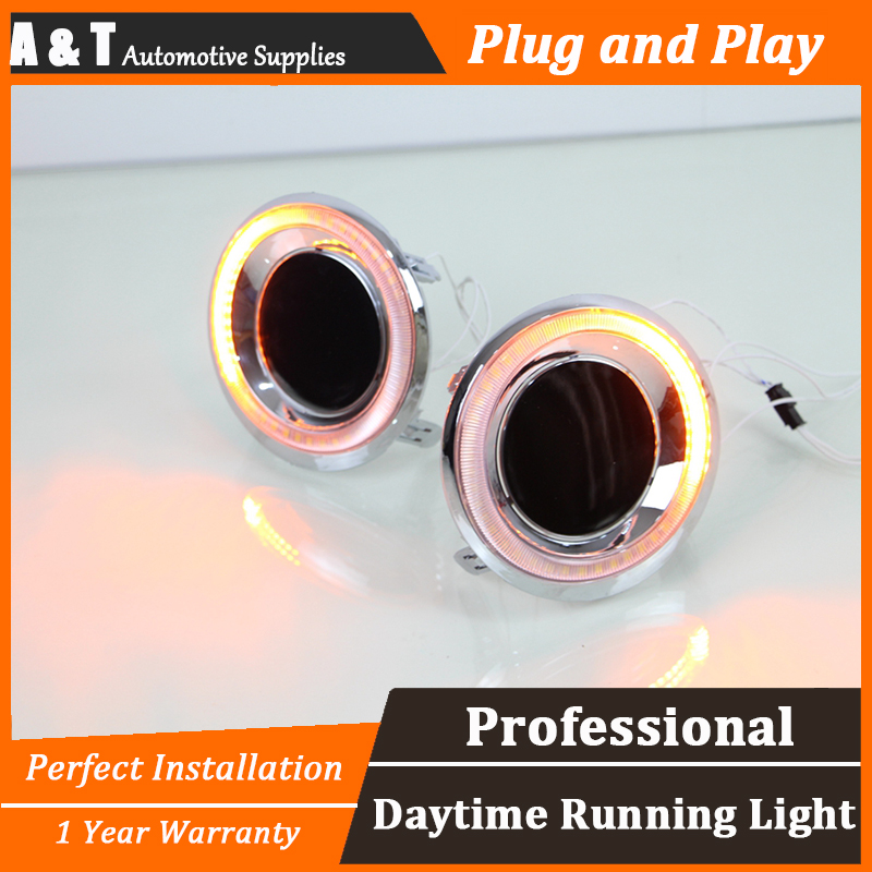 car styling For Toyota Prado LED DRL For Prado led fog lamps led daytime running lights High brightness guide LED DRL novsight car led headlights assembly headlamp projector drl fog light daylight for toyota prado 2004 2009