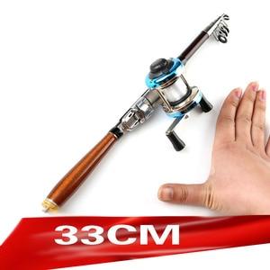 Image 1 - hard short carbon fiber telescopic fishing rod ultralight spinning rod for seafishing boat rock stick pesca pole for bass carp