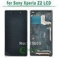 Blanco, negro, púrpura lcd pantalla para sony para xperia z2 l50w d6503 pantalla táctil digitalizador con el capítulo libera asamblea gratuito