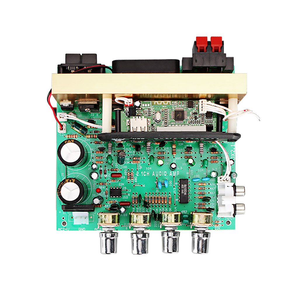 AIYIMA Bluetooth Amplifier Board 80W 2 1 Channel Subwoofer