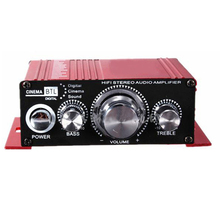12V Mini Hi-Fi Audio Amplifier Booster MP3 Stereo for Car Motorcycle Boat