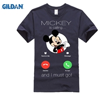 Mickey Is Calling And I Must Go Incoming Call Shirts