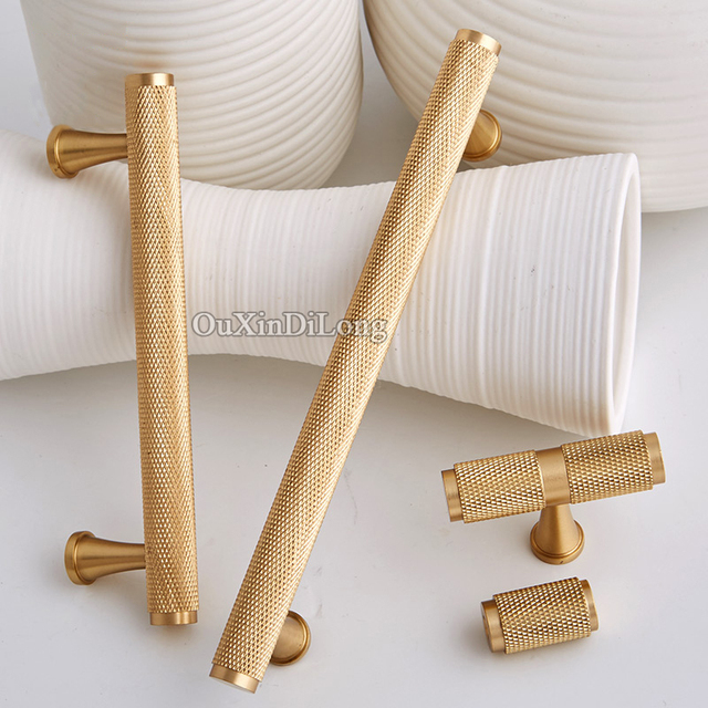 Nice Top Luxury 10PCS European Solid Brass Cabinet Pulls Handles Kitchen Door  Cupboard Wardrobe Drawer Wine Cabinet