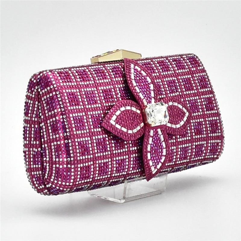 Tasche In Verschiedene Taschen Set Schuhe Set Kristall BlauGoldGr Italien Neueste In italienische Frauen und jVUpGLzMqS