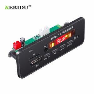 Image 5 - DC 12V Bluetooth 5.0 car kit MP3 Scheda di Decodifica Audio Modulo USB TF di FM Radio AUX MP3 Lettore Handfree per il Supporto Auto di Registrazione