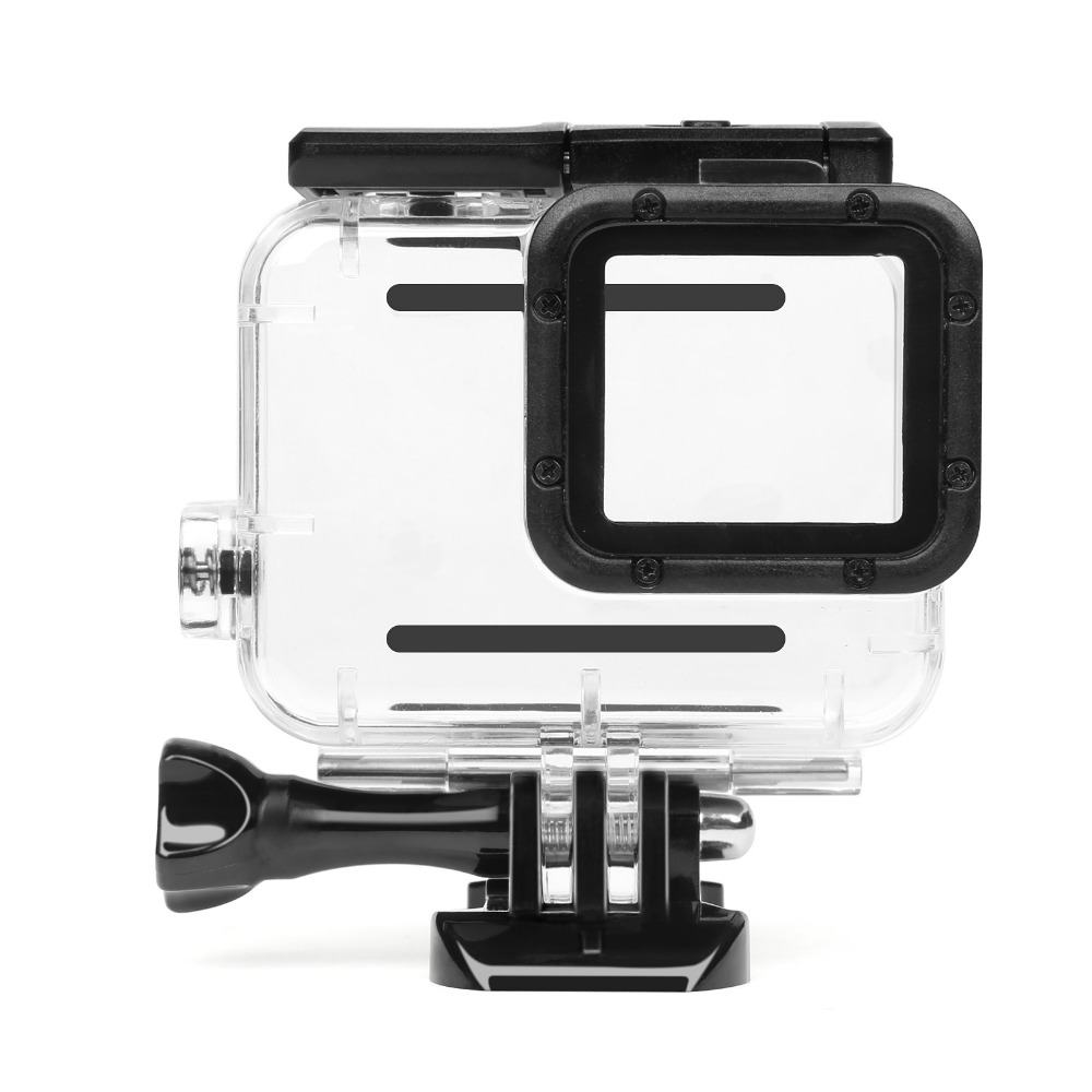 SHOOT 45m Waterproof Case for Gopro Hero 5 6 Black Edition Camera with base Mount Protective HERO 5 6 Case Go Pro Accessories