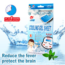 Medical Grade Hydrogel Multifunctional Health Care Cooling Patch of  Fever Reducing Gel For Children&Adult