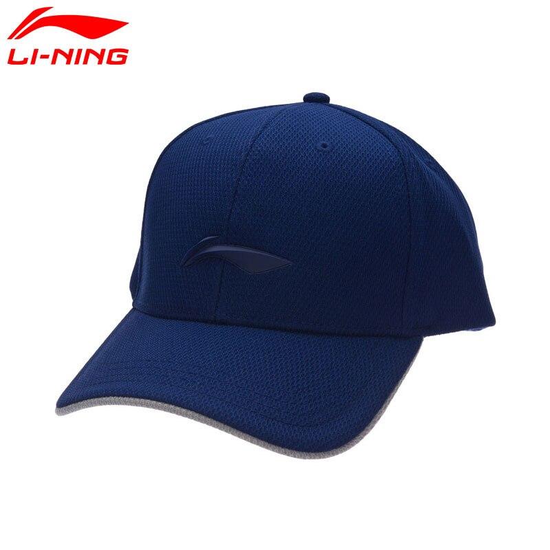 Li-Ning Unisex Urban Sport Baseball Cap Polyester Sunshade LiNing Sports Hats AMYM144 EJAS17