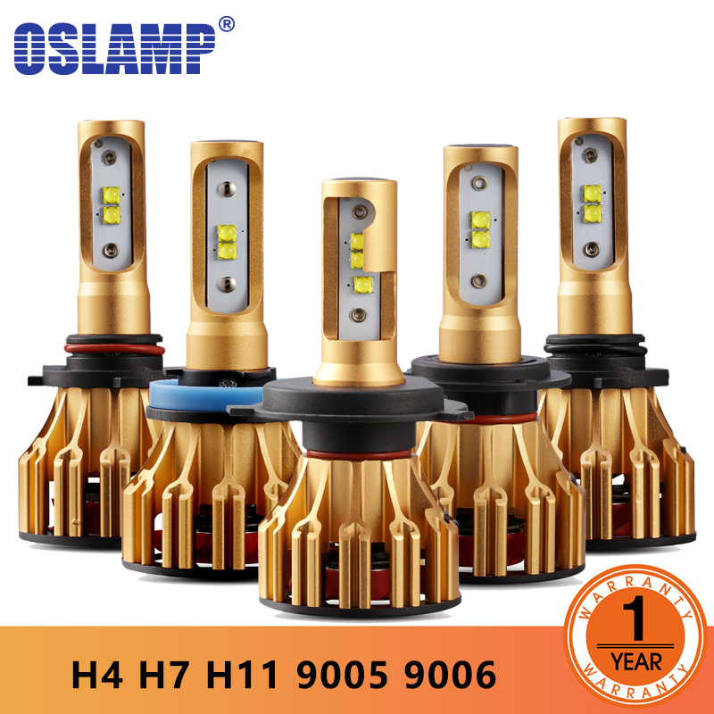 Oslamp T6 Serie H4 H7 H11 9005 9006 LED Auto Scheinwerferlampen 6500 Karat 70 W/Pair Hallo-Lo/Einzigen Strahl Automobil Scheinwerfer nebelscheinwerfer 12 V