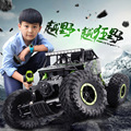 2.4G 4CH 4WD RC Car Rock Crawlers 4x4 Driving Car Double Motors Drive Bigfoot Car Remote Control Car Model Off-Road Vehicle Toy