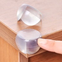 Child Baby Safety Silicone Protector Table Corner Protection Cover Children Anticollision Edge Corner Guards Furniture Protector