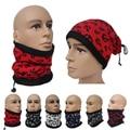 2016 Unisex Mulheres Homens Outono Inverno Esportes Velo Térmico Lenços O Anel de âncora Impressão Baixada Máscara Neck Warmer Beanie chapéus