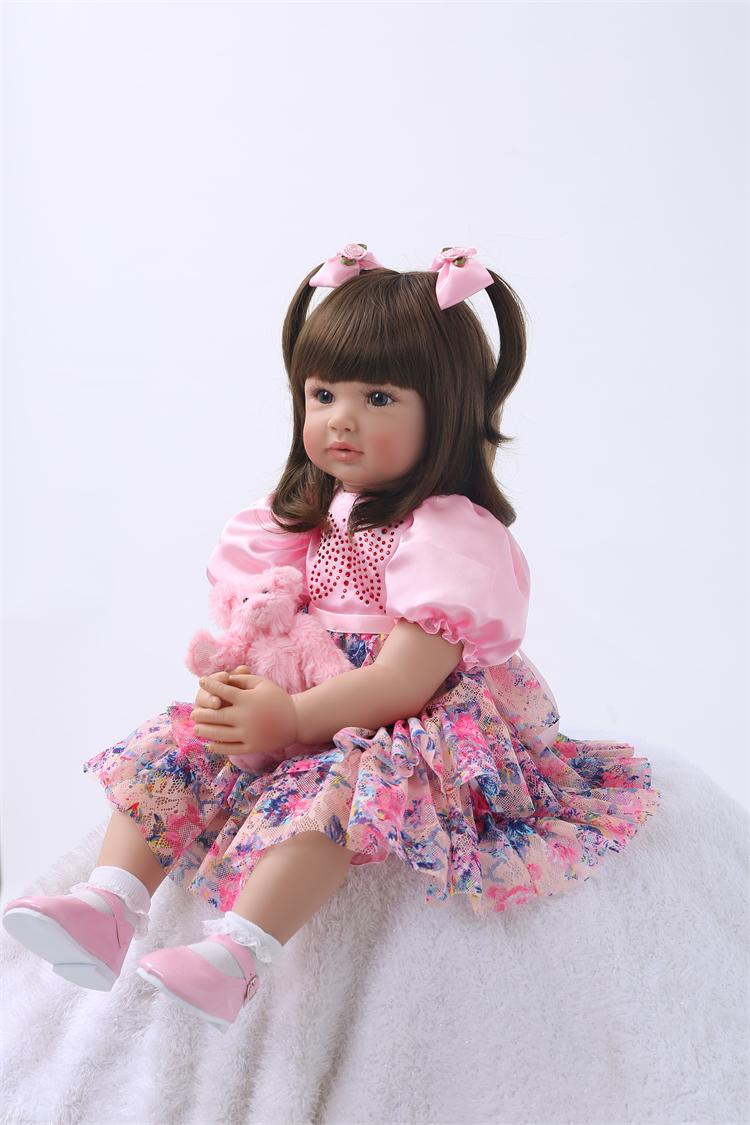 Silicone Reborn Baby Doll Toys High Quality Limited Collection Dolls 3