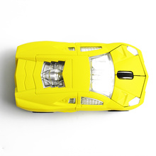 2.4GHz Car Mouse Wireless Racing Car Shaped Optical USB Mouse/Mice 3D 3Buttons 1600 DPI/CPI Wireless Mause for PC Laptop Desktop