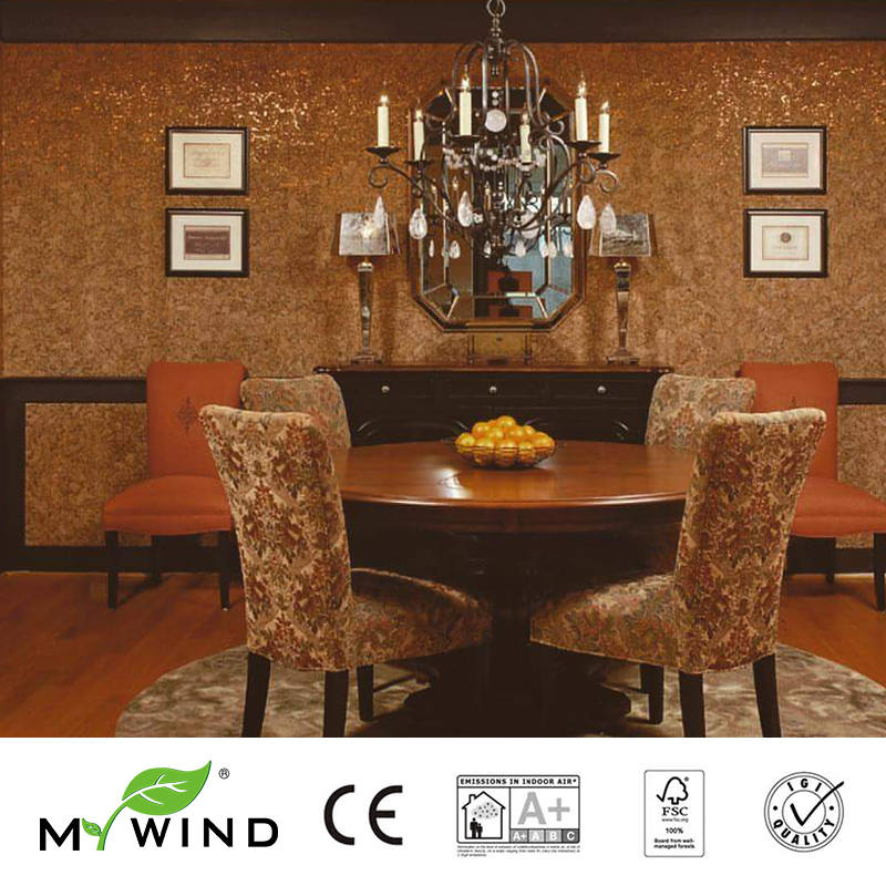 3D Wallpaper In Roll Decor 2019 MY WIND LIGHT BTOWN Luxury Good taste Wallpapers 100% Natural Material Safety Innocuity