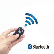 Fghgf 새로운 1 pc 무선 멀티미디어 블루투스 원격 제어 usb 충전 케이블 카메라 셔터 아이폰 6 7 8 yunteng 1288
