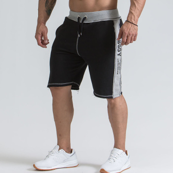 Mens gym cotton shorts Running jogging outdoor sports Fitness Sweatpants male workout Crossfit clothing Brand short pants 1