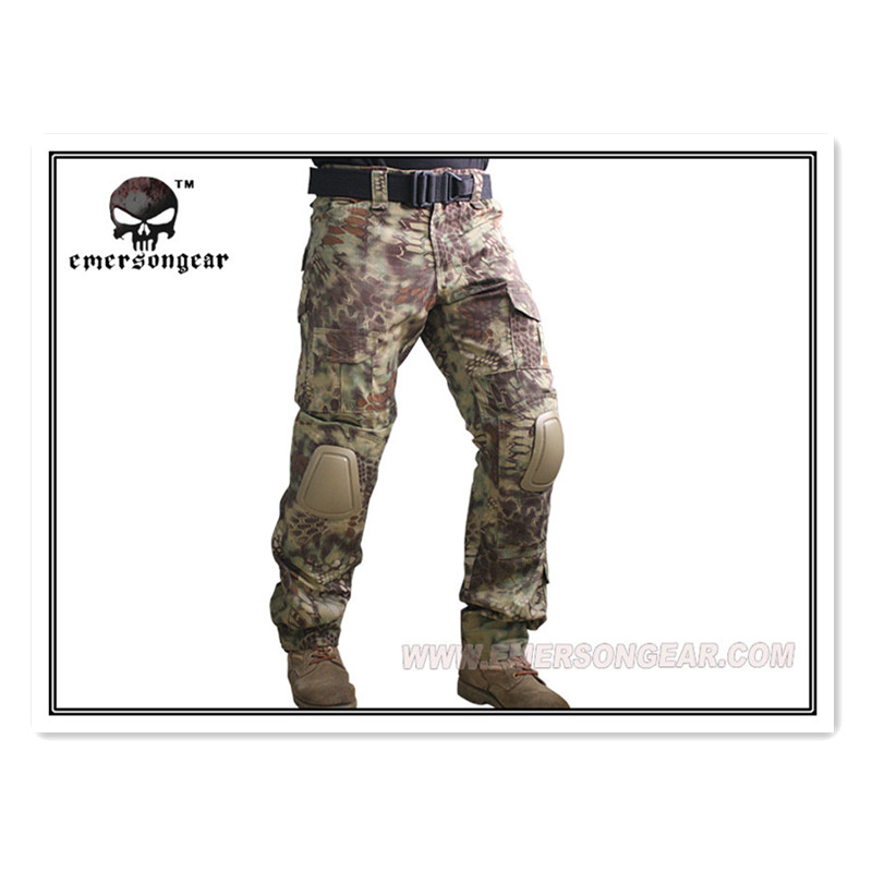 Здесь продается  Kryptek Mandrake Emerson Gen2 Pants with knee pads Combat Tactical airsoft Pants MR EM 7034  Спорт и развлечения