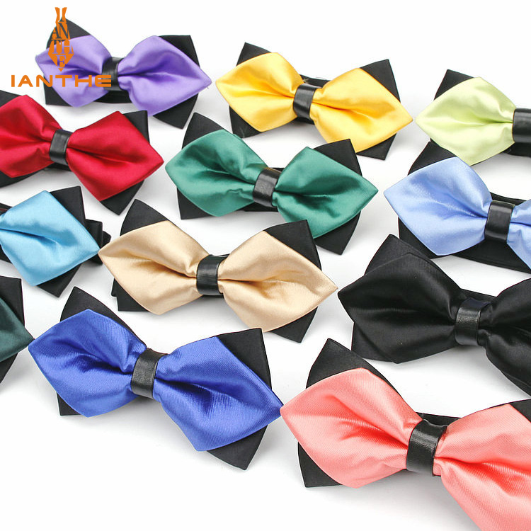 Bowtie Men Formal Necktie Boy Men Fashion Business Wedding Bow Tie Male Dress Shirt Krawatte Legame Gift Pet Neckwear Butterfly