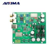 Aiyima 2017 ES9018MK2 + SA9023 Bordo de Decodificación DAC USB Decodificación DAC de Audio Digital Estéreo/COAXIAL Tarjeta de Sonido Externa 32-bit