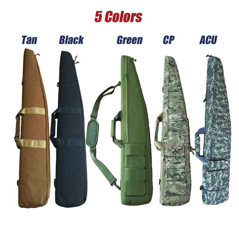120cm Gun Rifle Bag Outdoor Tactical Carrying Bags Military Gun Case Shoulder Pouch For Airsoft Shooting Hunting Painting Games